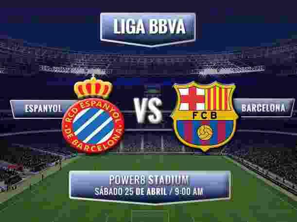 Prediksi Espanyol vs Barcelona 25 April 20161