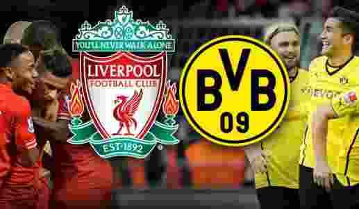 Prediksi Liverpool vs Borussia Dortmund 15 April 20161