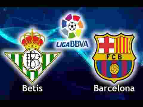 Starting Line Up Real Betis vs Barcelona Statistik Kedua tim