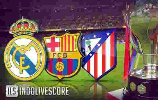 Real Madrid Barcelona Atletico