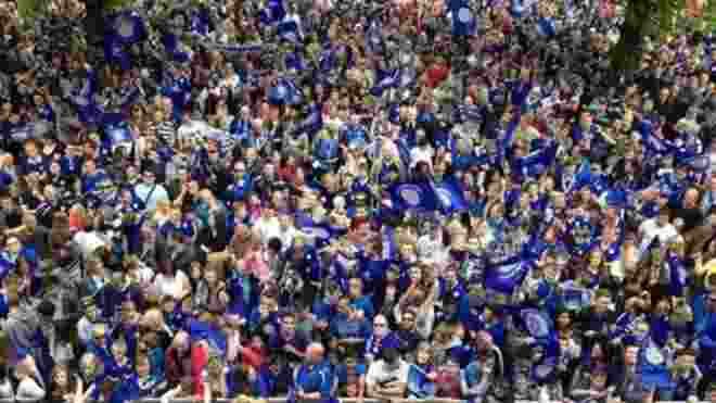 Warga Leicester Tak Sabar Gelar Pesta Juara