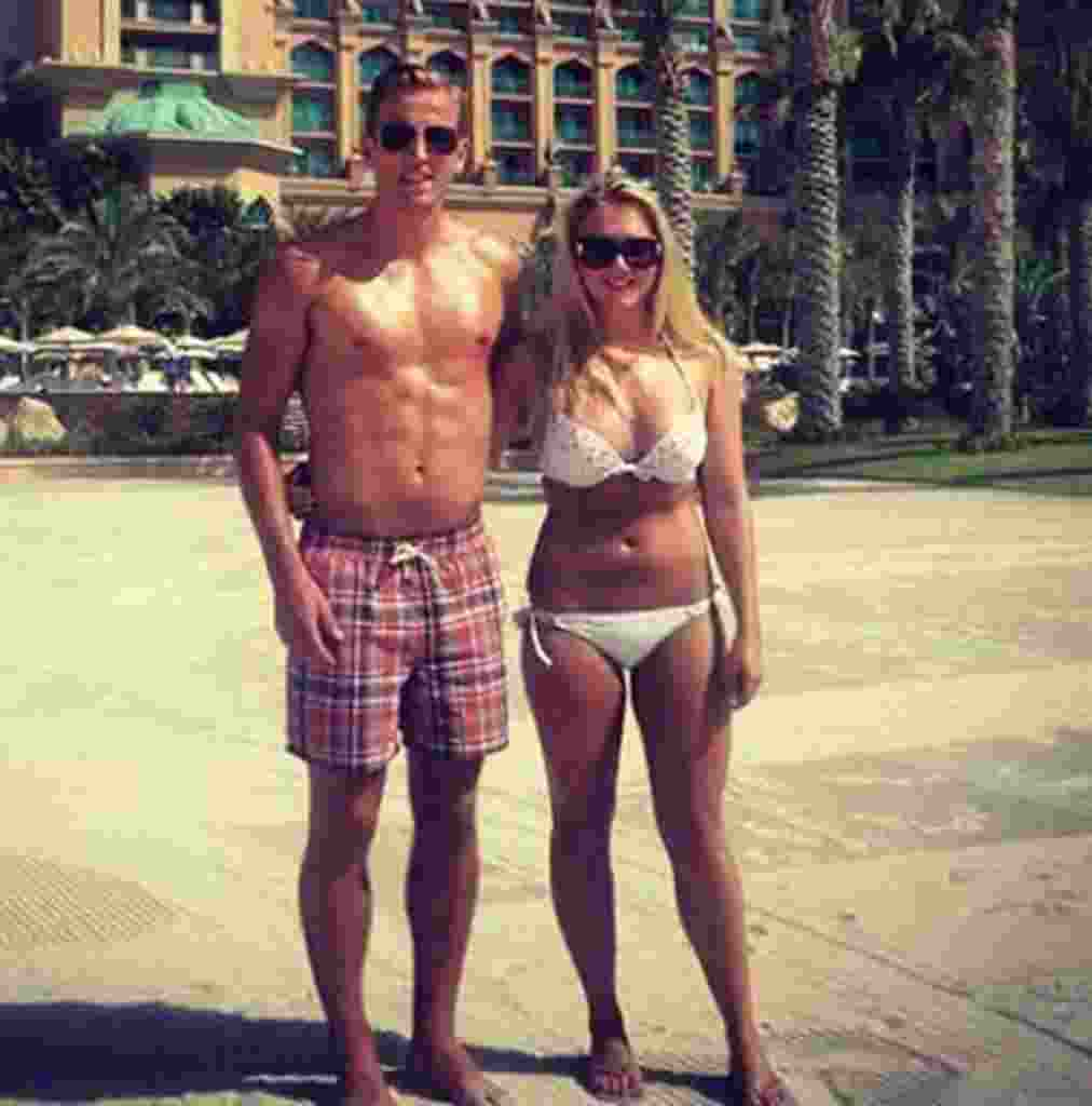 Kate Goodlands dan Harry Kane