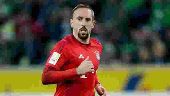 Franck Ribery of Bayern Munchen during the Bundesliga match between Borussia Mönchengladbach and Bayern München on December 5, 2015 at the Borussia-Park in Mönchengladbach, Germany.(Photo by VI Images via Getty Images)