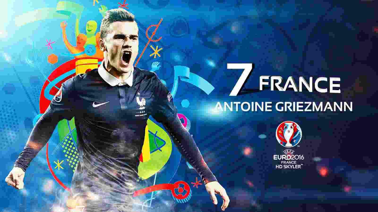 Antoine Griezmann Terpilih Jadi Pemain Terbaik EURO 20161