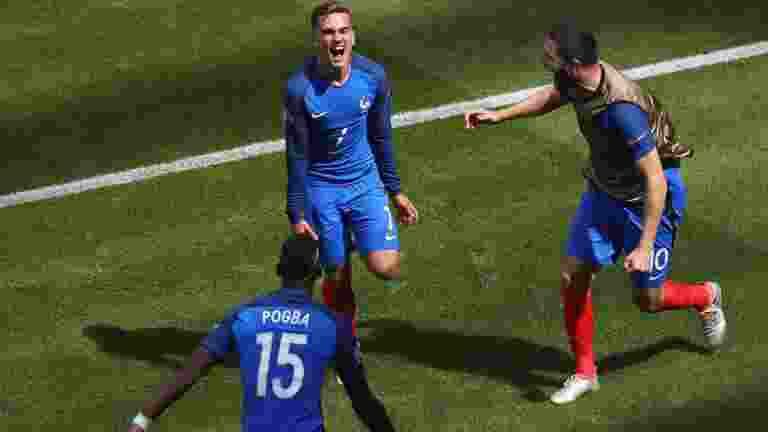 Antonie Griezmann Raih Top Skor Sepatu Emas Euro