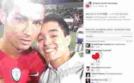 pria-beruntung-ini-pamer-foto-hasil-selfie-bareng-ronaldo