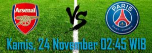 prediksi-arsenal-vs-paris-saint-germain-24-november-2016