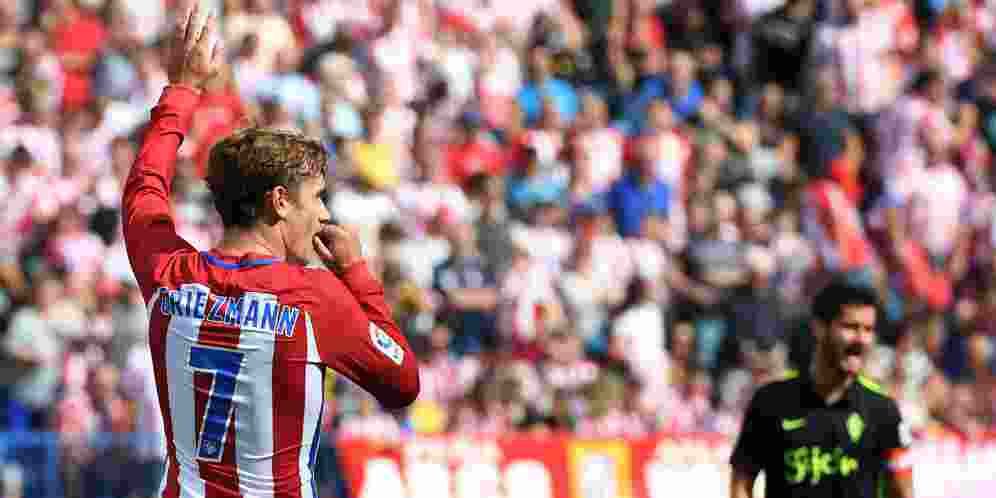Griezmann Akan Warisi Nomor Beckham di Manchester United