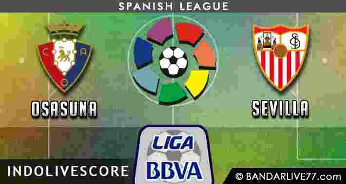 Prediksi Osasuna vs Sevilla