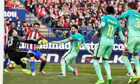 Barcelona Menang Atas Atletico Madrid Dengan Skor 1-2