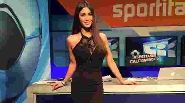 Elisabetta Galimi, Presenter Bola Cantik WAGs Putra Diego Simeone2