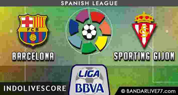 Prediksi Barcelona vs Sporting Gijon