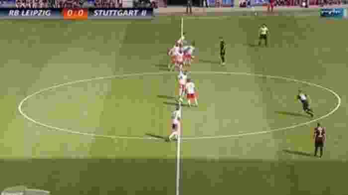 RB Leipzig Pakai Formasi 2-0-8, Langsung Cetak Gol Dalam Hitungan Detik
