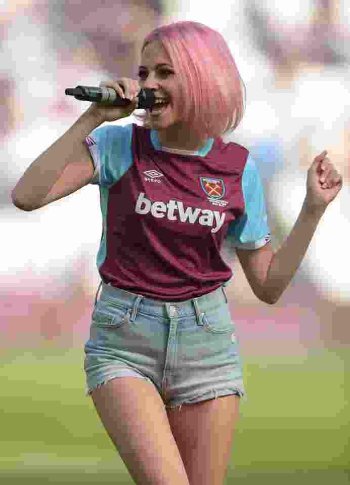 3. Pixie Lott (West Ham)