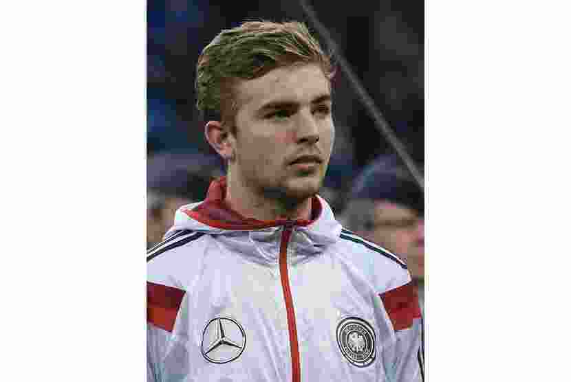 Germany's Christoph Kramer is seen before the friendly soccer match against Poland in Hamburg, May 13, 2014. Picture taken May 13, 2014. REUTERS/Fabian Bimmer (GERMANY - Tags: SPORT SOCCER)