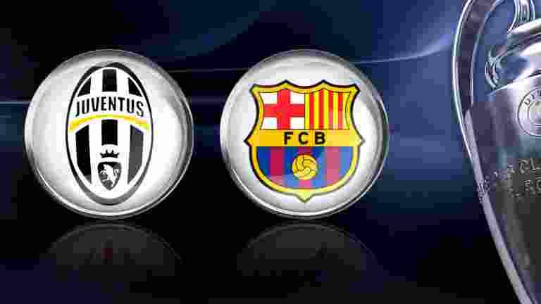 Juventus vs Barcelona1