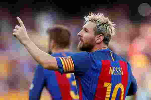 Lionel Messi Top Skor Teratas di Eropa