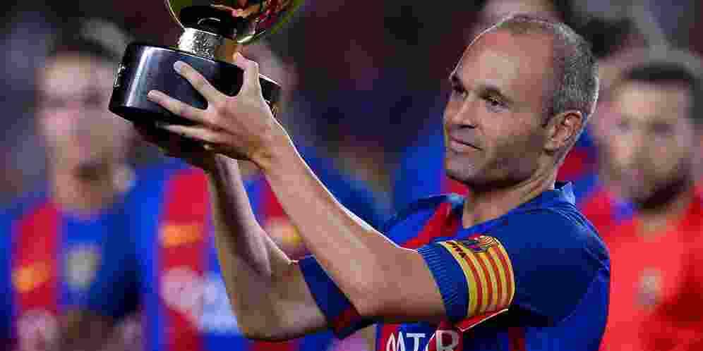 Luar Biasa, Iniesta Catat Penampilannya yang ke-615 bersama Barca