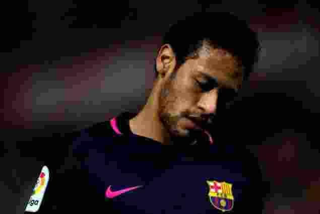 Neymar Dipastikan Absen di El Clasico Madrid vs Barca 24 April 20171