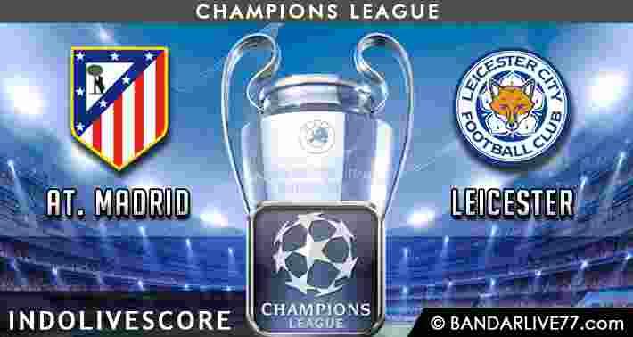 Prediksi Atletico Madrid vs Leicester
