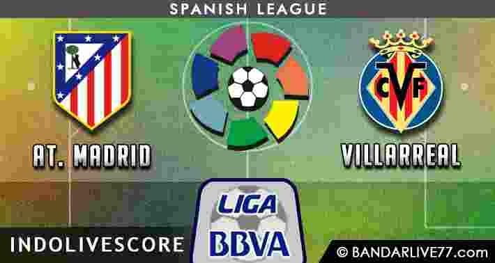 Prediksi Atletico Madrid vs Villarreal