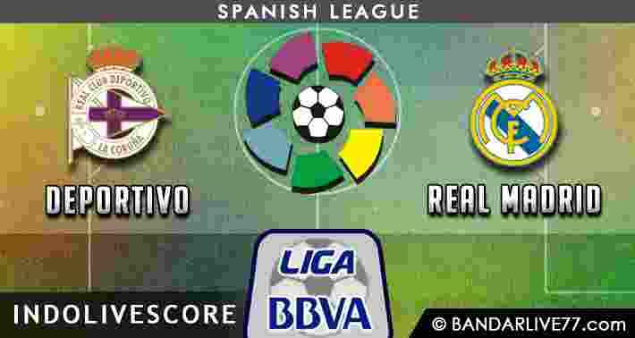 Prediksi Deportivo vs Real Madrid