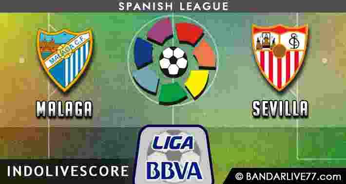 Prediksi Malaga vs Sevilla