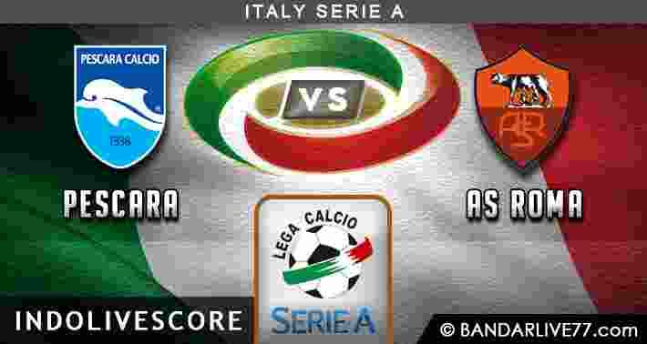 Prediksi Pescara vs Roma