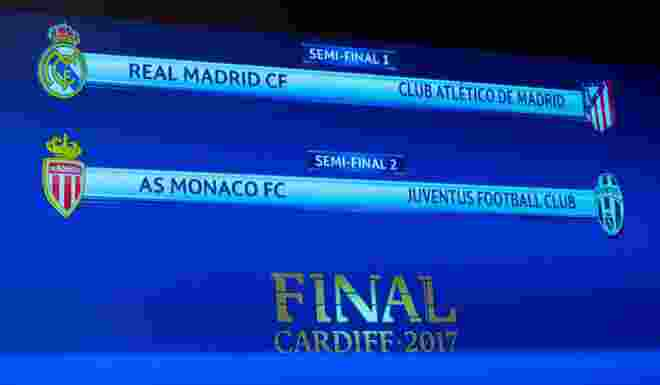 Semifinal Liga Champion, Real vs Atletico, Monaco vs Juventus
