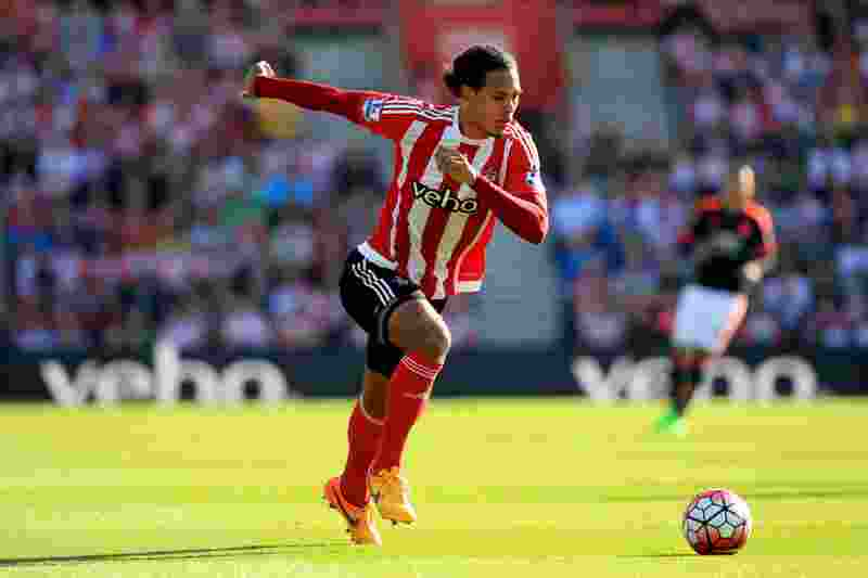 20 September 2015 - Barclays Premier League - Southampton v Manchester United - Virgil van Dijk of Southampton - Photo: Marc Atkins / Offside.