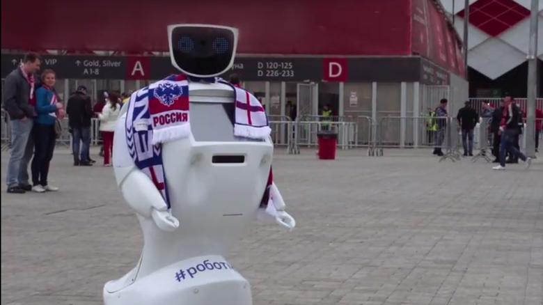 Alantim, Robot yang Digunakan Sebagai Pengaman Suporter Inggris di Piala Dunia 2018