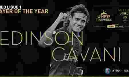 Cavani Pemain Terbaik, Mbappe Pemain Muda Terbaik Ligue 1 Perancis