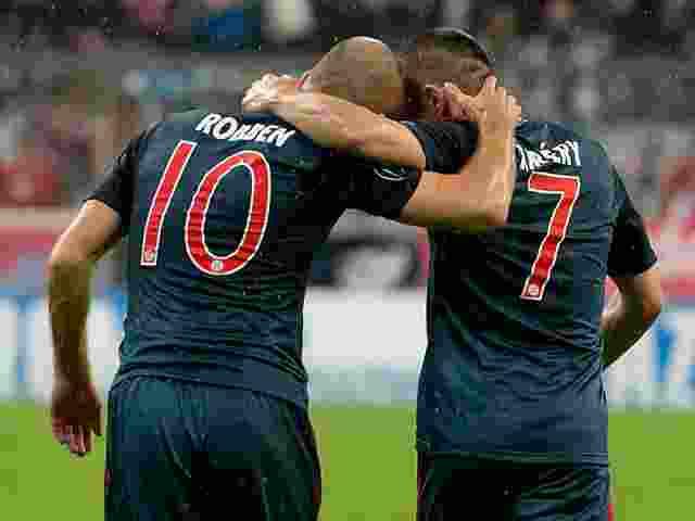 Dicari Pengganti Arjen Robben dan Franck Ribery di Bayern Munchen