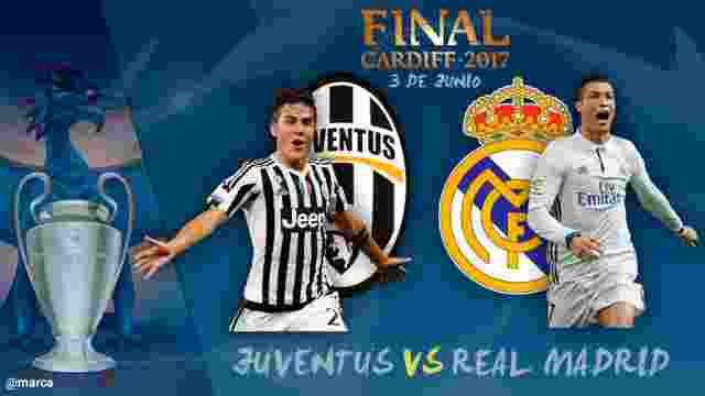 Final Liga Champions Juventus vs Madrid1