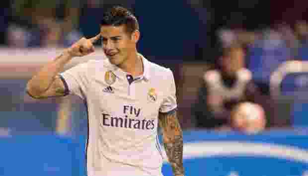 Real Madrid Setujui James Rodriguez Pindah ke Manchester United
