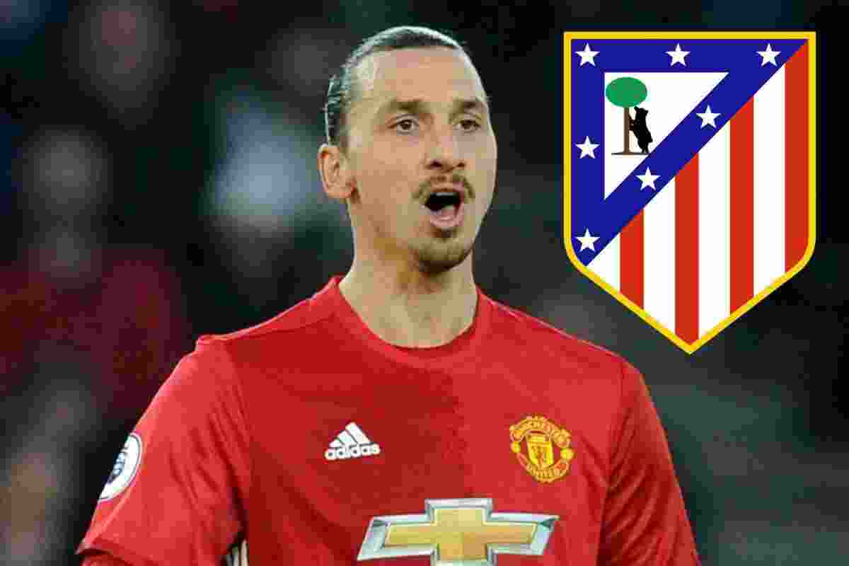 Atletico Madrid Ramaikan Perburuan Zlatan Ibrahimovic