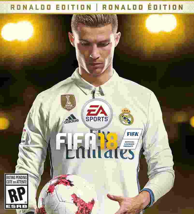 Cristiano Ronaldo Jadi Cover Game Sepak Bola FIFA 18