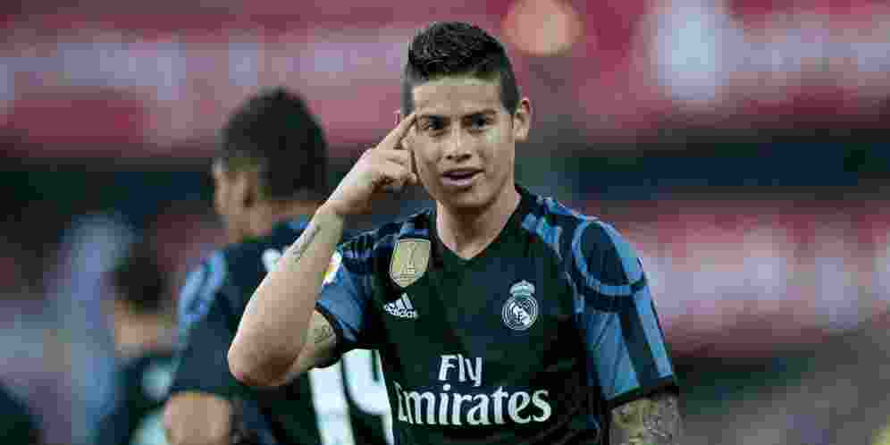 James Rodriguez Sindir Real Madrid di Media Sosial