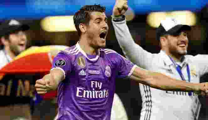 Perseteruan Dengan Zidane Alasan Morata Hengkang