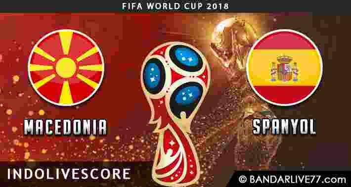 Prediksi Macedonia vs Spanyol