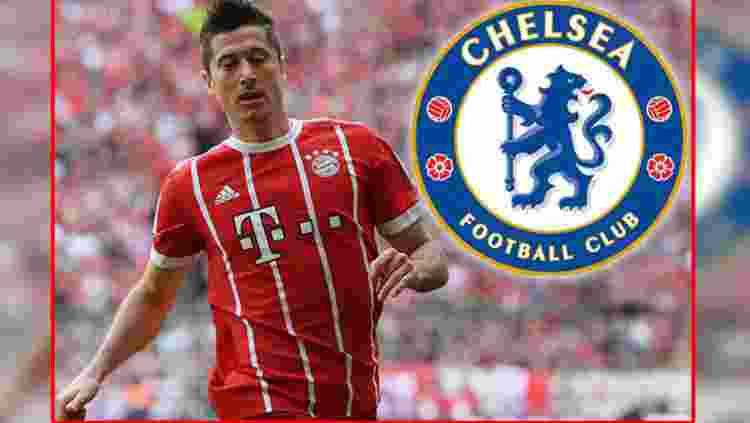 Robert Lewandowski Jadi Alternatif Pengganti Diego Costa di Chelsea