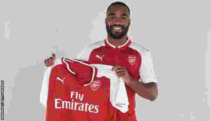 Alexandre Lacazette Cetak Rekor di Arsenal