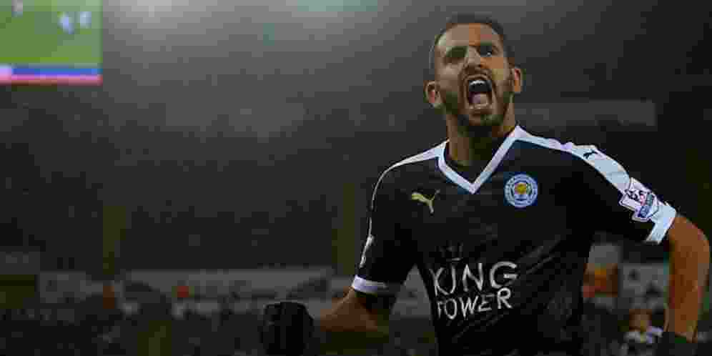 Arsenal dan AS Roma Berebut Riyad Mahrez