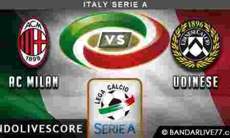 Prediksi AC Milan vs Udinese