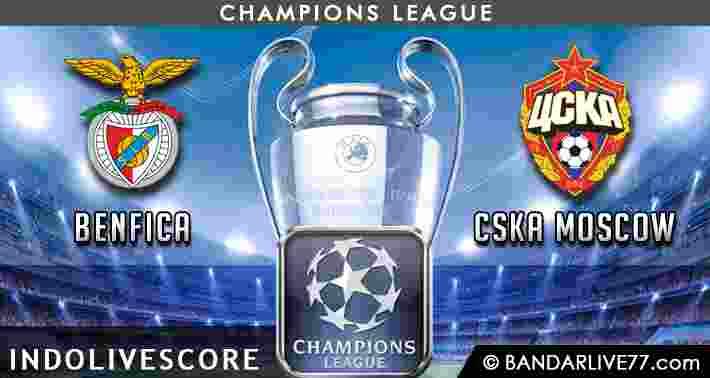 Prediksi Benfica vs CSKA Moscow