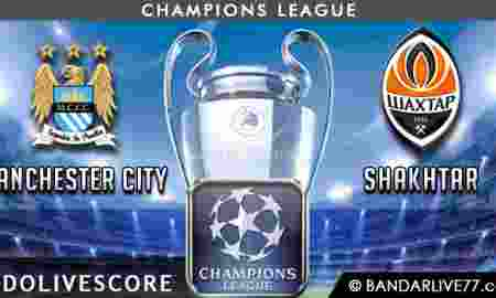 Prediksi Manchester City vs Shakhtar