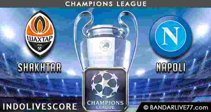 Prediksi Shakhtar vs Napoli