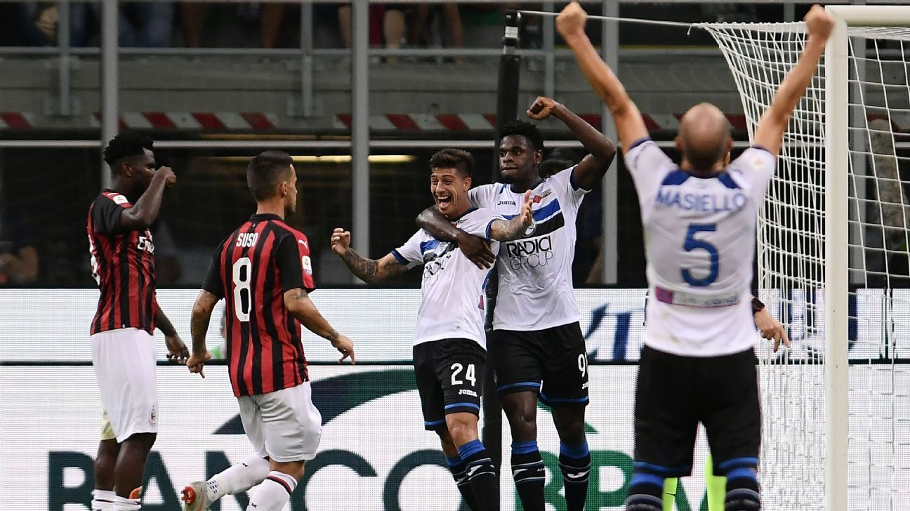 Atalanta Berhasil Paksakan AC Milan Untuk Berbagi Poin