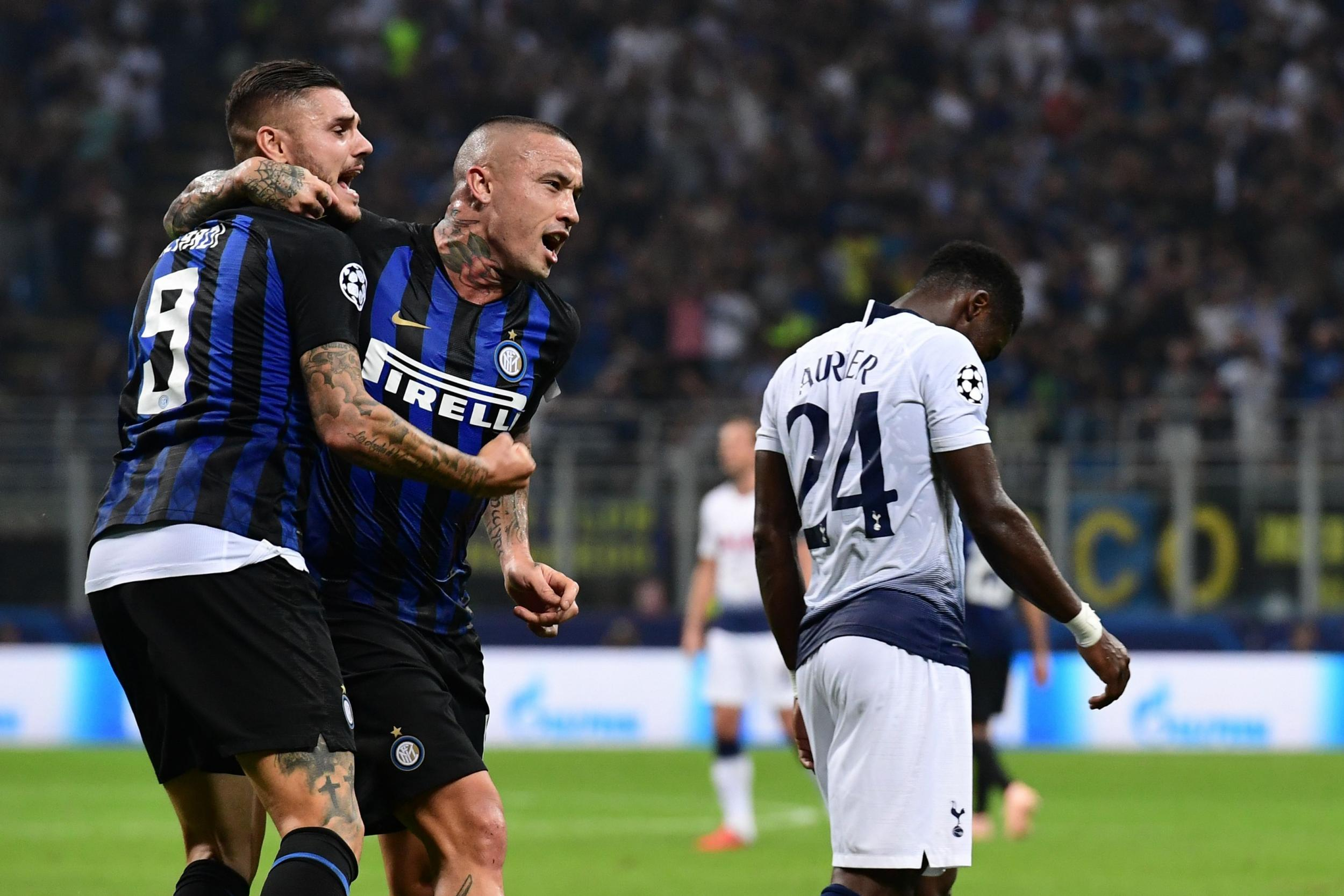 Come back Inter Berhasil Mengalah kan Tottenham Hotspur
