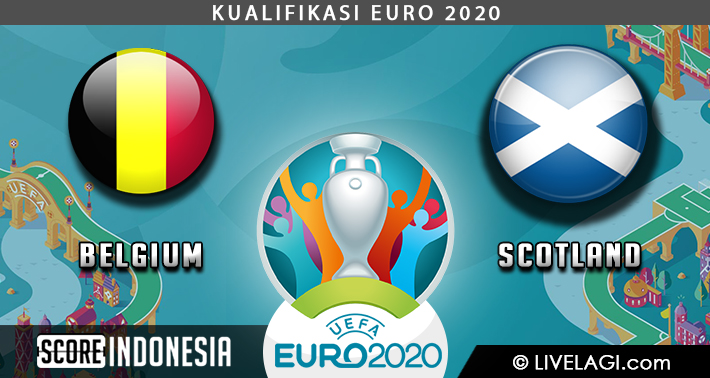 Prediksi Belgium vs Scotland